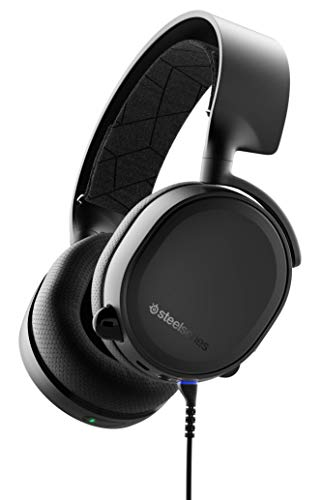 SteelSeries Arctis 3 |61509 (2019 Edition) Bluetooth & Wired Gaming Headset (Renewed)