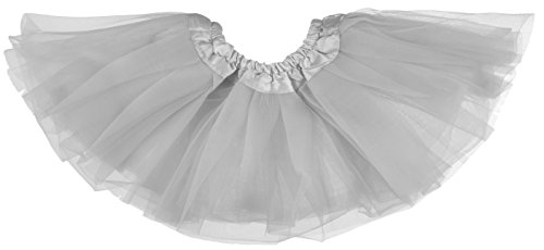 Dancina Baby Girls Cute Tulle Skirt Dress up 6-24 Months Gray -