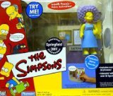 Playmates - The Simpsons - World of Springfield Interactive Environment (Playset) - Springfield DMV w/exclusive Selma Bouvier (Marge's sister) figure and custom accessories]()