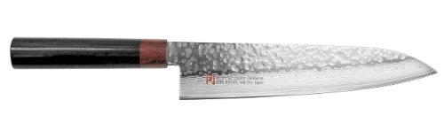 SETO Japanese Chef Knives: Damascus Forged Steel from World Famous Seki, Japan (I-4: 210m/ m: GYUTO KNIFE) by Japanese Cutlery