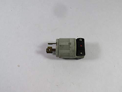 Arrow Hart 6565 Hart-Lock Plug 15A 250V 3W 2P