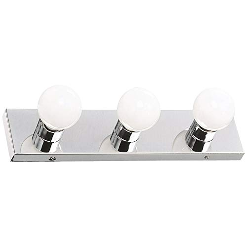Design House 500850 3 Light Vanity Light, Polished ()