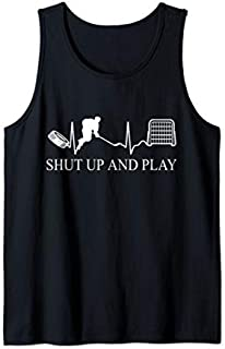 Ice Hockey  | Funny Hockey Tee | Ice hockey Gift Tank Top T-shirt | Size S - 5XL