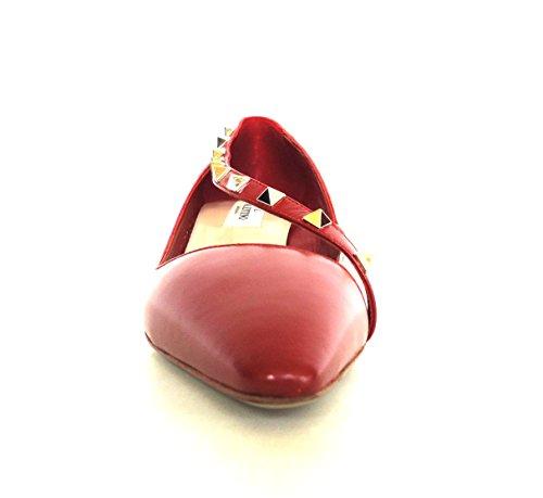 Valentino Garavani Zapatos de Vestir de Piel Para Mujer Rojo Rojo