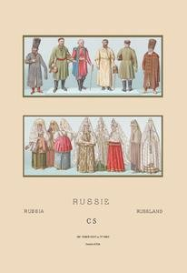 Buyenlarge Russian Historical Figures and Popular Costumes #1 Fine Art Canvas Print (28