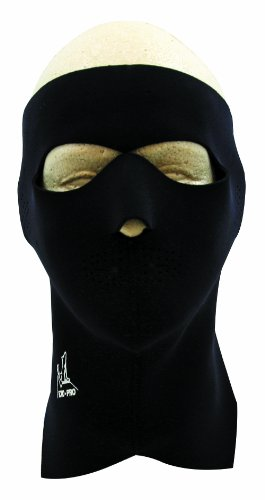 Exo Pro E231 Extreme Full Face and Neck Mask, Black