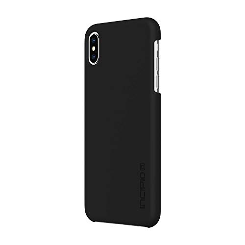 Incipio Feather Ultra-Thin Case for iPhone Xs Max (6.5) with Matte Hardshell Snap-On Application - Black