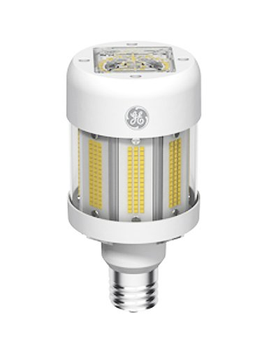 GE 88109 ED37 LED Lamp, Clear, 5000K (Stark White), Mogul Base, 70 CRI, UL, 50,000 Year Lifespan
