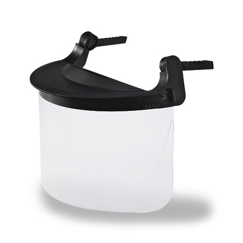 Uvex Helm-Visier aus Polycarbonat, Farbe: farblos, für diverse Uvex pheos Helme