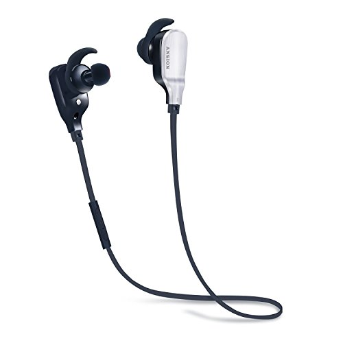 Bluetooth Headphones,Ansion Wireless 4.1 Sports In-Ear Earbuds Lightweight Earphones HD...