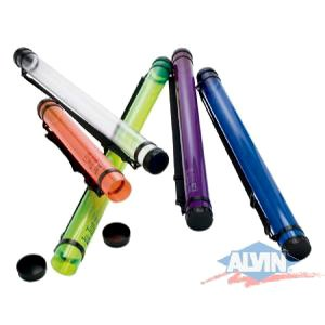 Alvin MT37-OR Ice Tubes Orange Storage & Transport Tube  2 3/4 inches I.D. x 37 ()