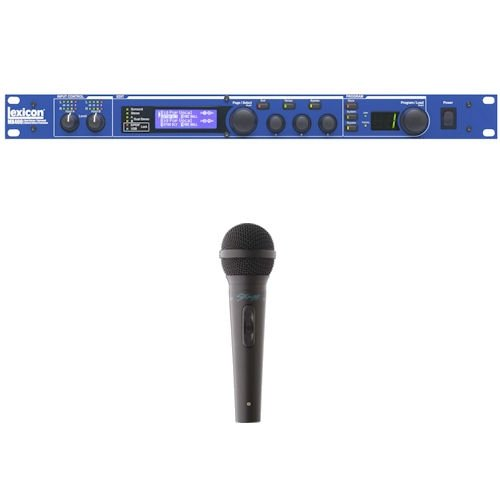 Lexicon by Harman MX400 4-In/4-Out Reverb/Effects Processor Bundle with Microphone
