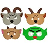Story Telling Play Masks - Three Billy Goats Gruff