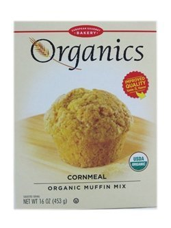 European Gourmet Bakery - Organic Muffin Mix Cornmeal - 16 oz.(pack of 2)