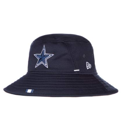 Dallas Cowboys New Era Mens Navy Training Bucket Hat -