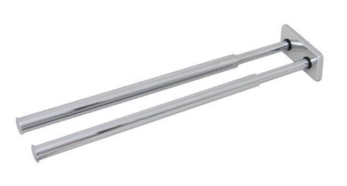 Giese 90116 die praktische handtuchhalter doppelt 325 mm ausziehbar
