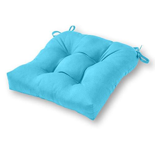 Greendale Home Fashions SC4800-ARUBA Sunbrella Outdoor Chair Cushion, Aruba (Sunbrella Cushions Chair)