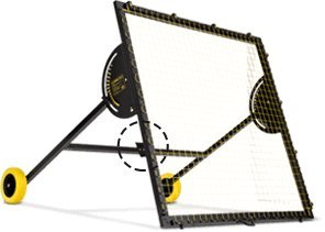M-Station Talent Club Soccer Rebounder Used by Real Madrid Heavy Duty Professional Equipment School Training App by M-Station