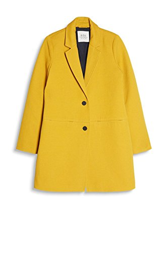 edc Jaune by Esprit Yellow Femme 720 Manteau Brass 6Uw6Iqr