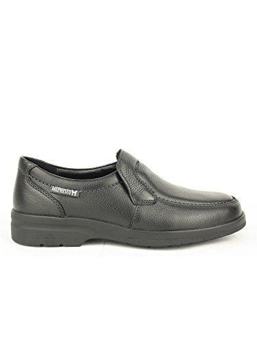 Mephisto JAKIN NATURAL 7200 BLACK P5040951 - Zapatos casual de cuero para hombre Negro