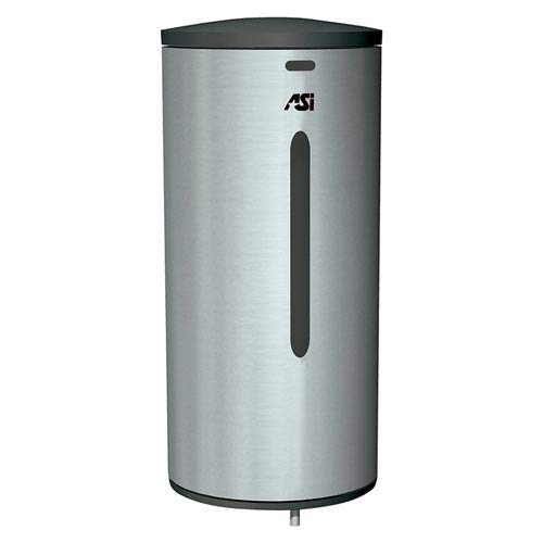 ASI 0360 Soap Dispenser, Automatic - 35 oz, Stainless Steel, Surface - Oz Soap 35