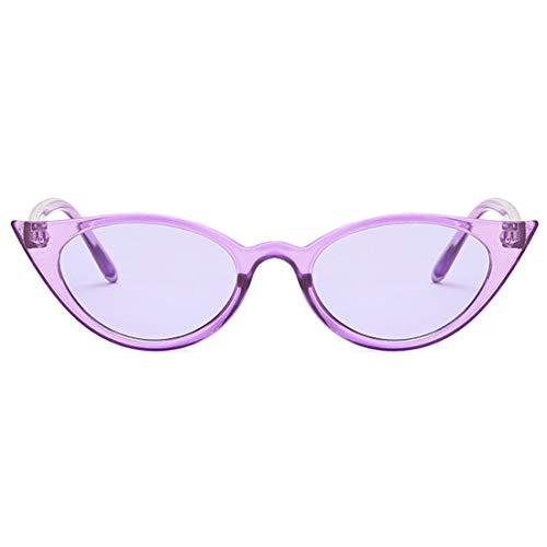 Et Cat's Lunettes Soleil Femmes Eye Aiweijia Rétro Hommes Violet Mode Petites De xzqwAIAp