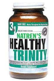 Natren Healthy Trinity Dairy Free Capsules, (Natren Healthy)