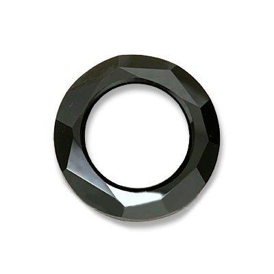 - SWAROVSKI ELEMENTS Crystal Pendant, #4139 Cosmic Ring, 20mm, 1 Piece, Jet