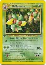 Pokemon Single Card Holofoil Rare Bellossom ()
