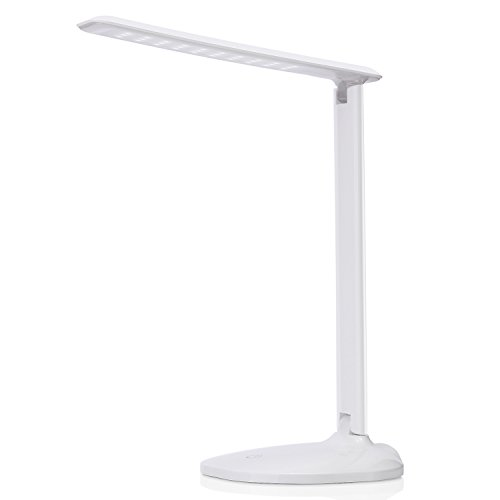 Dimmable LED Table Lamps, AVAWAY USB Powered Touch Desk Lamp Reading Lamp for Studying, Reading, Working - (Ava Table Lamp)