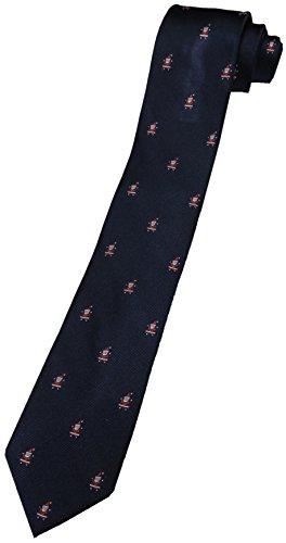 - Tommy Hilfiger Neck Tie Navy Blue Christmas w/ Santa