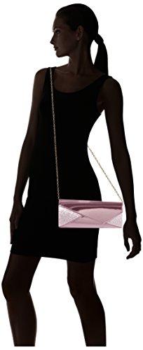 SwankySwans - Casey Patent Leather Glitter, Pochette da giorno Donna Rosa (Pink)