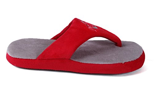 Flop Mens and Happy Ohio College Womens State Comfy LICENSED NCAA Buckeyes Feet OFFICIALLY 0fET8
