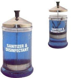 (Debra Lynn Sanitizing Manicure Glass Jar 21oz)