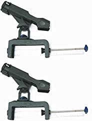 KUFA Clamp On Fishing Rods Holder with Large Clamp Opening