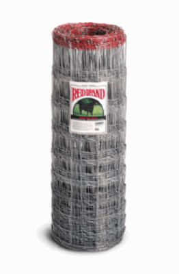 Red Brand Keystone Steel & Wire 70207 Square Deal Field Fencing, 10-Wire, 330-Ft. - Quantity 4