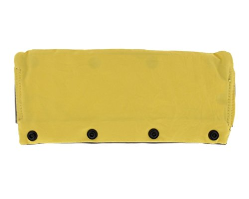 TwinGo Carrier Panel Extender (Yellow/Grey), Extend the height of your TwinGo Carrier for extra head and neck support for babies and toddler by TwinGo