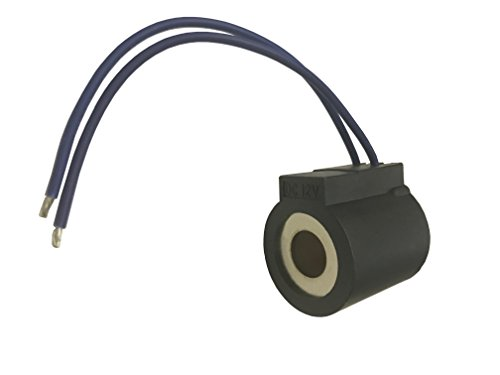 "HY 6302012 - Coil Comparable Replacement to Hydraforce Coil with Wire Leads 12 Volt DC Fits 08, 80, 88, and 98 Series Hydraforce Stems (1/2"" Hole)"