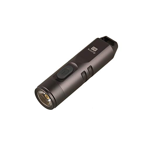 550 Lumens Super Bright Outdoor EDC Mini Keychain Rechargeable LED Flashlight,Hard Anodizing Aluminium Alloy Built-in Li-ion Battery 45 Minutes Fast Charging,Waterproof IPX-65 Small Torch,A3(Gun Grey)