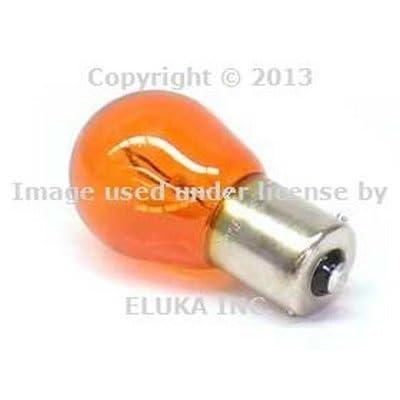 2 X BMW Genuine Turn Signal Bulb (7507L Amber) Longlife bulbs blinker lamps for 128i 135i 320i 323Ci 323i 325Ci 325i 325xi 328Ci 328i 328xi 330Ci 330i 330xi 335i 335xi 525i 525xi 528i 530i 530xi 540i 540iP 545i 550i 645Ci 650