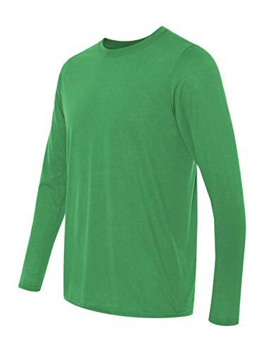 Gildan G424 Performance Long-Sleeve T-Shirt - Irish Green - L