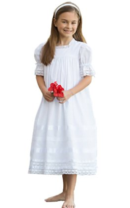 Strasburg Lace Flower Girl Dress Heirloom Communion Little Girls Dresses Baptism by Strasburg Children