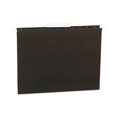 Universal Hanging File Folders, 1/3 Tab, 11 Point Stock, Letter, Standard Green, (11 Point Stock Letter)
