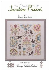 Cat Lovers Cross Stitch Chart and Free Embellishment
