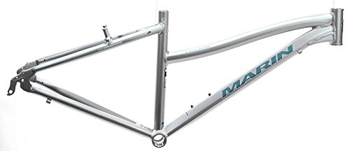 "17"" MARIN LARKSPUR 700C Women's Hybrid City Bike Frame Silver Aluminum NOS NEW"