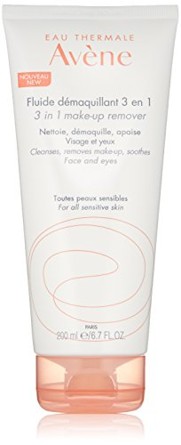 Eau Thermale Avene 3 in 1 Make-up Remover Lotion Cleanser, No Rinse for Eyes & Face, 6.7 oz. ()