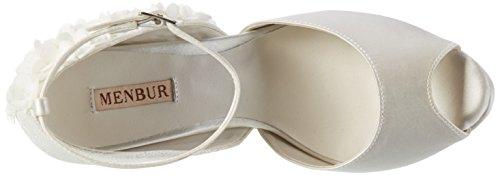 04 Ecru Chaussures Wedding Ivory Compensées Gema Menbur Femme PXT0nvqPw