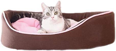 Nido de mascotas Suave Saco de Dormir de Dos Colores extraíble y Lavable, Cuatro Sacos de Dormir, Cama de litera pequeña de Terciopelo Universal, ...