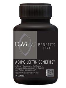 Adipo-Leptin Benefits - 60 Vegetarian Capsules by DaVinci Labs