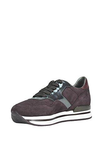Hogan Sneakers Donna MCGLCAK02046I Pelle Bordeaux